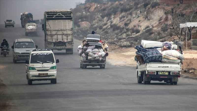 BM: İdlib'de son iki haftada 235 binden fazla sivil yerinden edildi