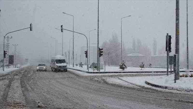 Doğu Anadolu'da 5 ilde karla karışık yağmur ve kar bekleniyor