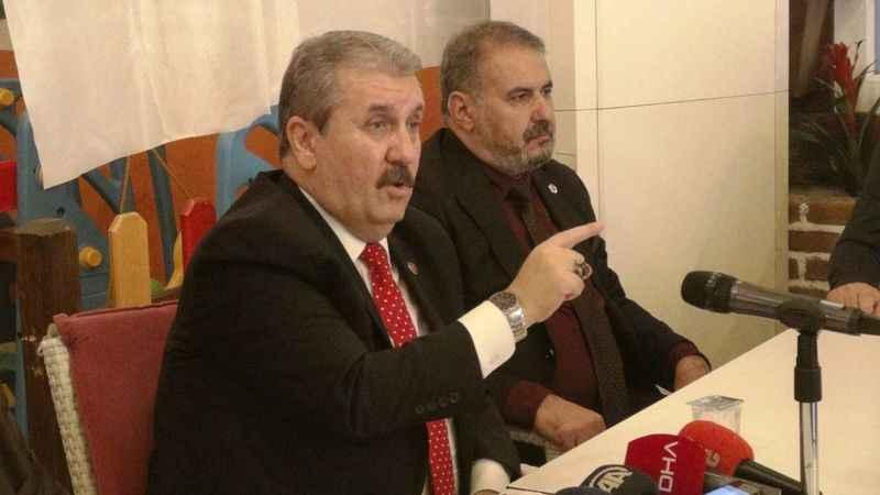 Destici: Libya'ya asker gönderme tezkeresine 'evet'diyeceğiz
