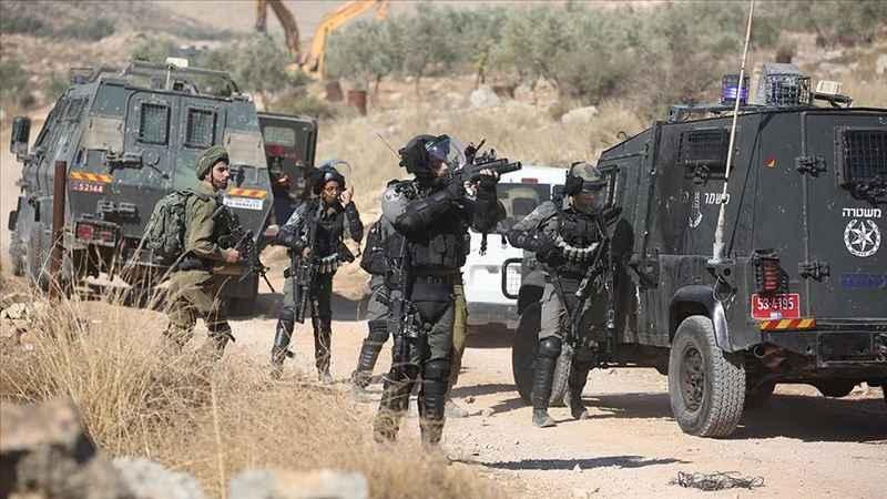 İşgalci İsrail güçleri Batı Şeria'da 3 Filistinli göstericiyi yaraladı