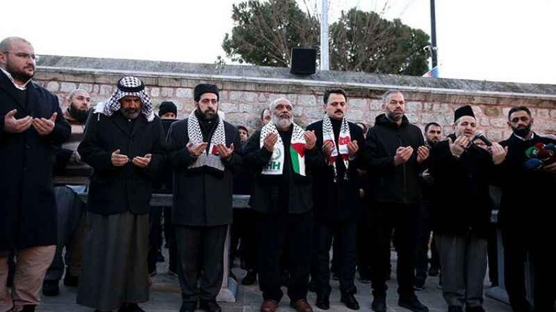 STK'lardan Şeyh Sabri'nin Mescid-i Aksa'dan uzaklaştırılmasına tepki