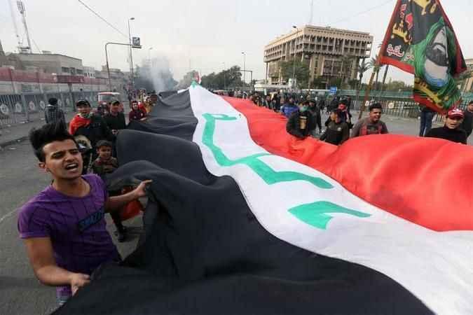 Irak'ta başbakan adayı Allavi protesto edildi