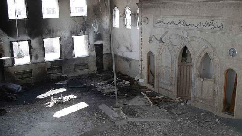 Rus savaş uçağı Bab'da Şeyh Duşi Camisi'ni bombaladı