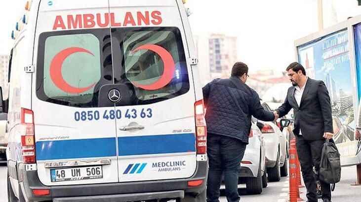 İstanbul'da ambulansla yolcu taşıyan şoför yakalandı