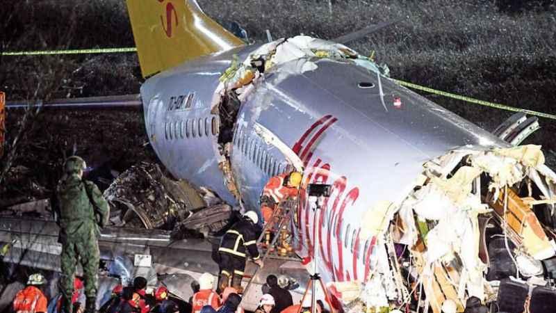 Pistten çıkan uçak kazasında ölenlerin kimlikleri belirlendi