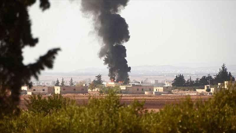 YPG/PKK'lı teröristler Azez'e havanla saldırdı: 4 yaralı