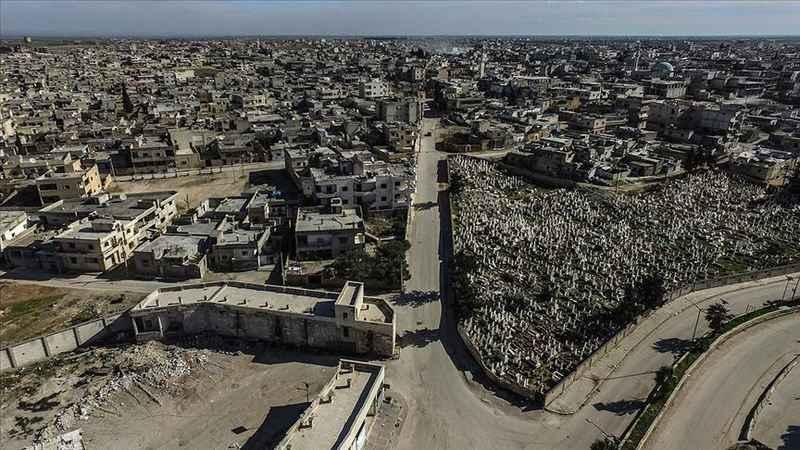 Esed rejimi ve destekçileri Serakib'te 170 bin sivili evsiz bıraktı