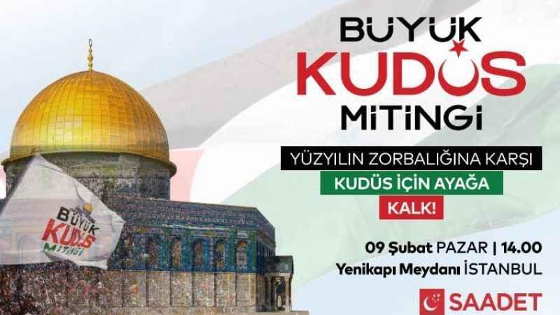 Büyük Kudüs Mitingi'ne hangi STK'lar katılıyor?
