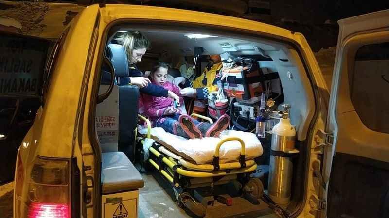 Siirt'te hasta çocuğa 8 saatte ulaşıldı!
