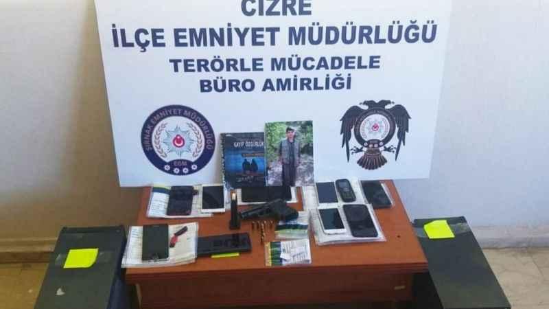 Şırnak'ta eylem hazırlığındaki PKK'lılara ağır darbe!