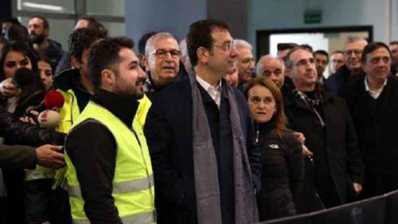 İmamoğlu, Mecidiyeköy-Mahmutbey metrosunun açılış tarihini açıkladı