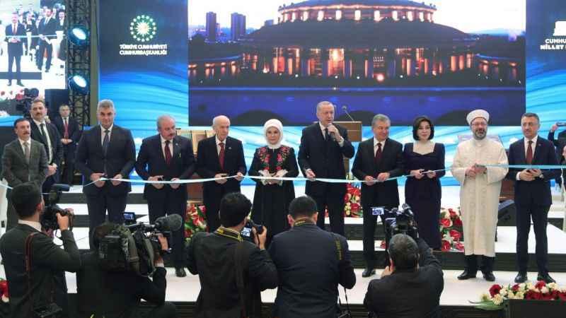 Cumhurbaşkanlığı Millet Kütüphanesi açıldı