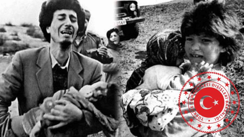 Dışişleri Bakanlığından Hocalı katliamı açıklaması