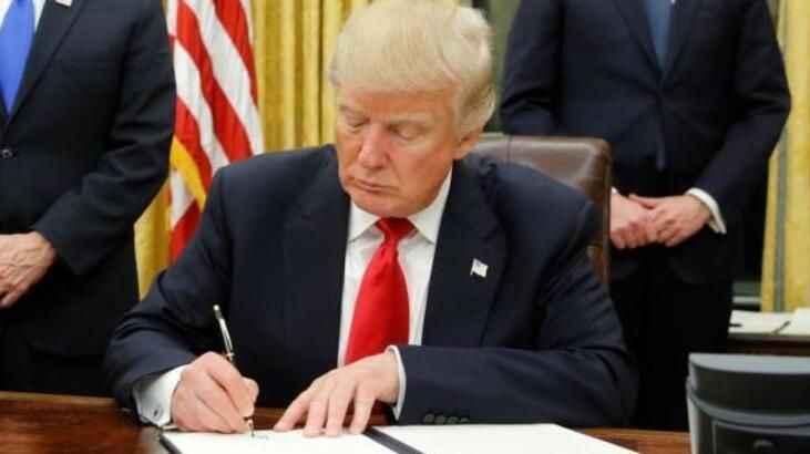 Trump '484 milyar dolarlık' onay!