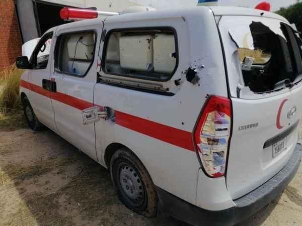 Hafter güçleri, Trablus'ta sahra hastanesine saldırdı