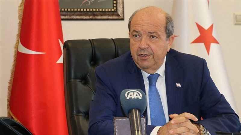 Kuzey Kıbrıs Türk Cumhuriyeti (KKTC) Başbakanı Ersin Tatar