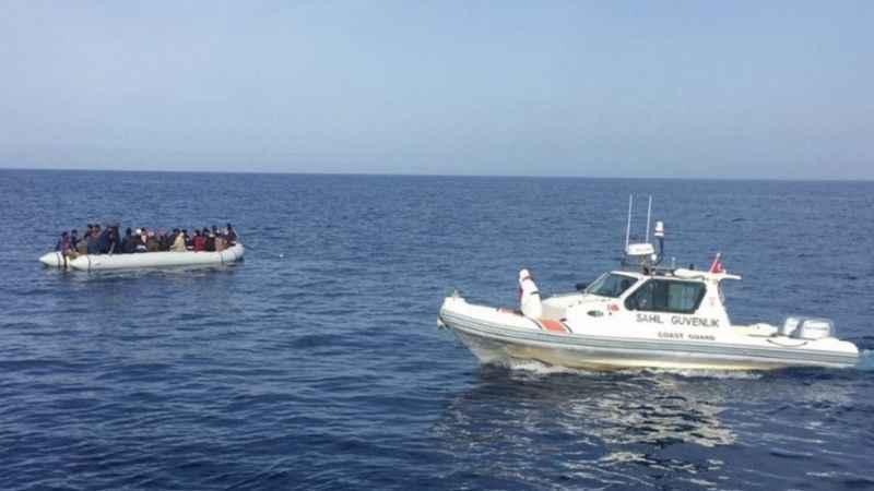 Yunanlıların ölüme terk ettiği 42 sığınmacı kurtarıldı!