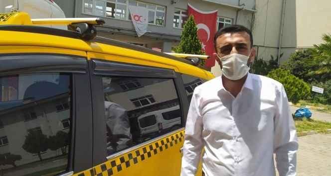 Taksiciden örnek davranış! Sağlıkçıları ücretsiz taşıyor