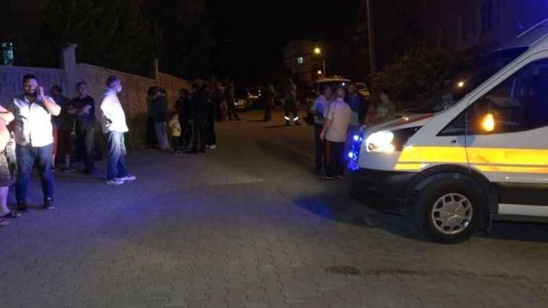 LPG kokusu mahalleliyi sokağa döktü!
