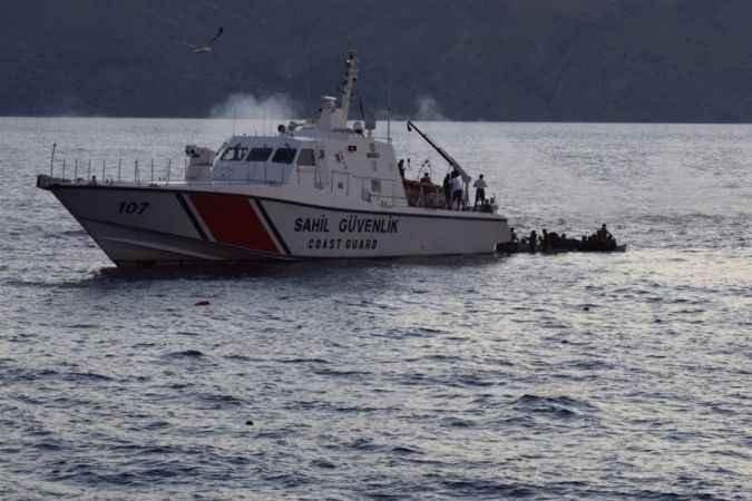 Yunanlıların ölüme terk ettiği 93 göçmen kurtarıldı