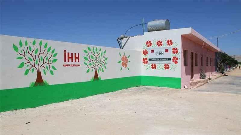 İHH İdlib'deki Şam Yetimhanesi'ne tadilat yaptırdı