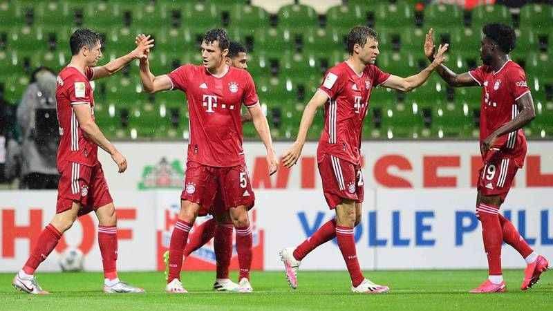 Bayern Münih, üst üste sekizinci kez şampiyon oldu!