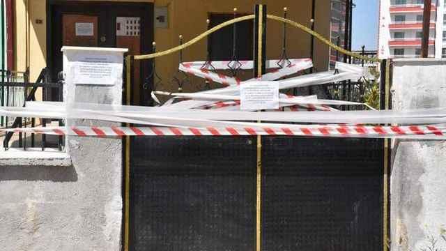 Sivas'ta bulunan Ensar Cami bu seferde kene nedeniyle kapatıldı!