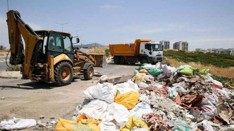 Buca'da kaçak moloz kabusu bitmiyor: Günde 50 ton moloz