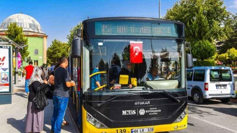 Malatya'da toplu ulaşım araçları LGS öğrencilerine ücretsiz!
