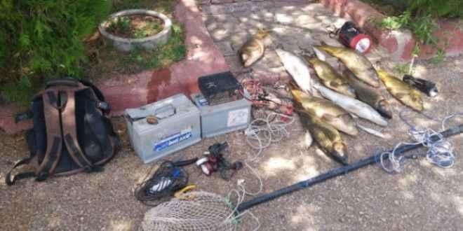 Elektrikle balık avına 10 bin lira ceza