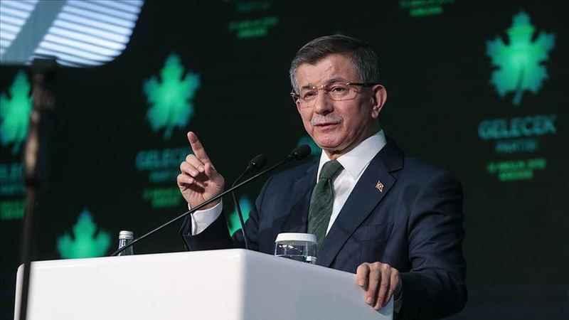 Ahmet Davutoğlu'ndan 103 amiralin ortak bildirisine tepki