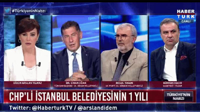 Sinan Oğan kendisine ambargo uygulayan kanalı canlı yayında açıkladı!