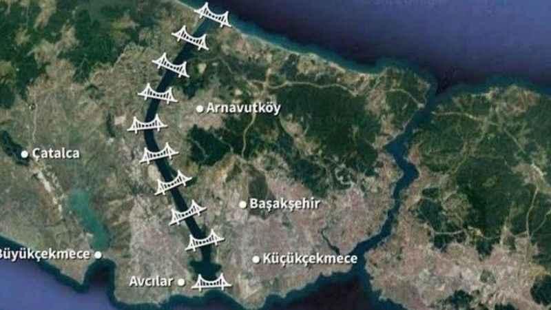 İstanbul'u 3'e bölecek olan Kanal İstanbul'da planlar onaylandı!