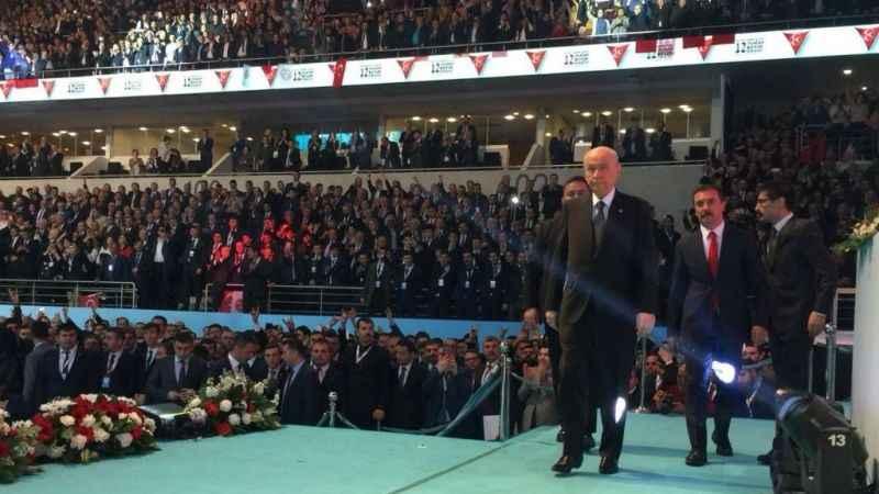 MHP kurultayının sloganı ve görselleri belli oldu...