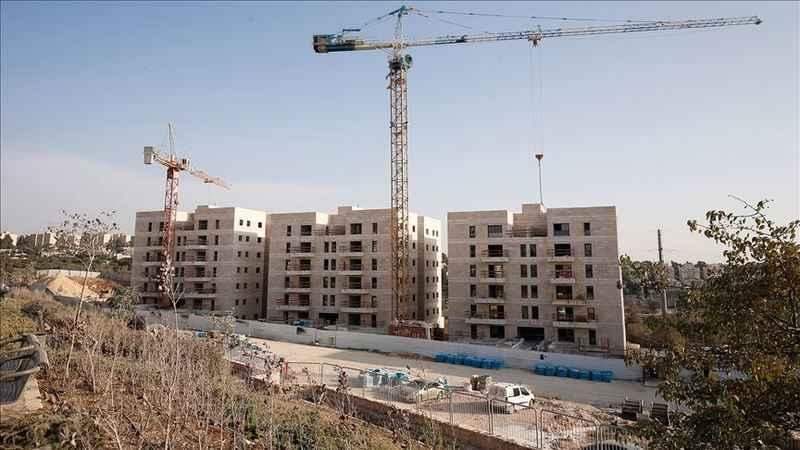 İşgalciler Batı Şeria'da ele geçirdikleri alanda inşaata başladı