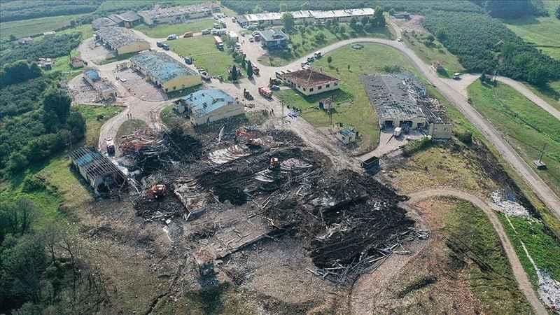 Havai fişek fabrikasındaki patlamaya dair idari soruşturma başlatıldı