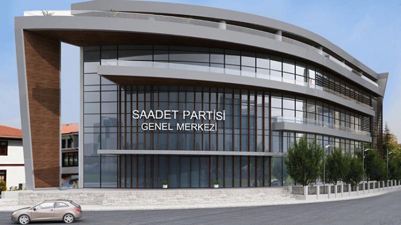 Son dakika... Saadet Partisi genel merkez binası için flaş gelişme