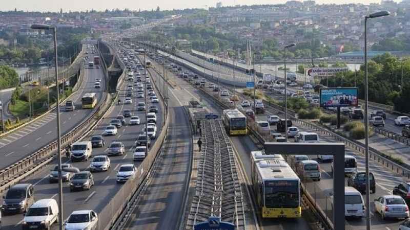 Haliç Köprüsü'nde 1 ay boyunca bazı şeritler trafiğe kapatılacak