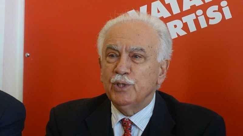 """Perinçek AK Parti'yi eleştirdi! """"Türkiye iflas noktasına geldi"""""""