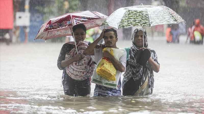 Hindistan'da muson faciası: 50 ölü