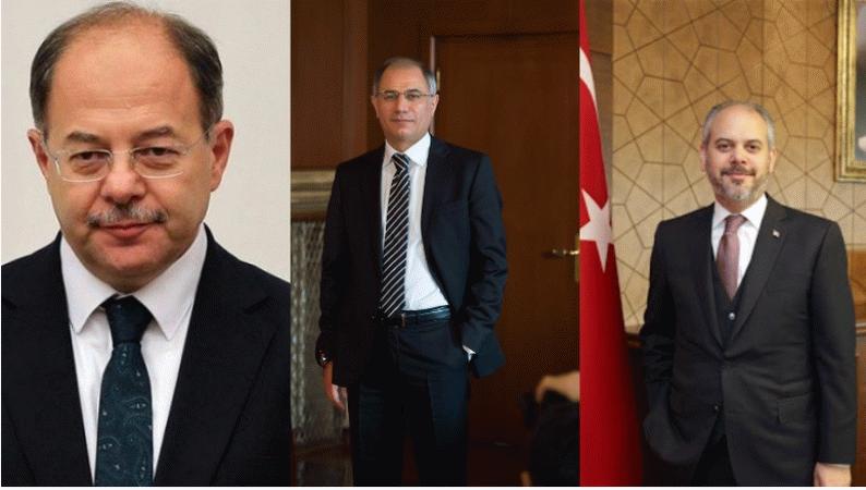 3 eski bakan komisyon başkanı seçildi