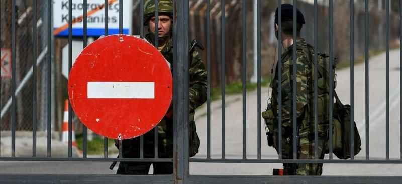 Yunanistan, Türkiye'ye sınır kapılarını kapattı!