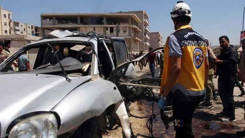 Afrin'de terör saldırısı: 13 yaralı!
