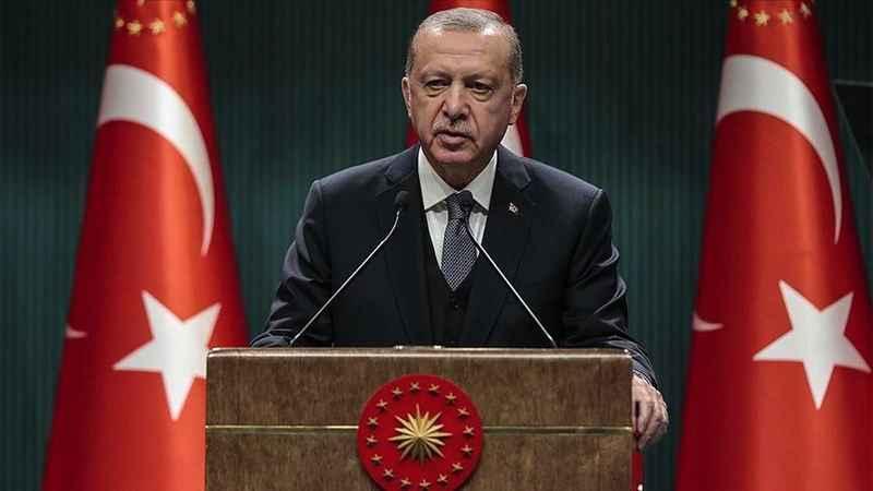 Cumhurbaşkanı Erdoğan'dan şehit askerin ailesine başsağlığı mesajı