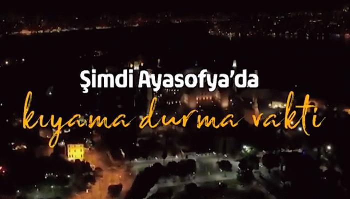Diyanet İşleri Başkanı Ali Erbaş'tan Ayasofya paylaşımı