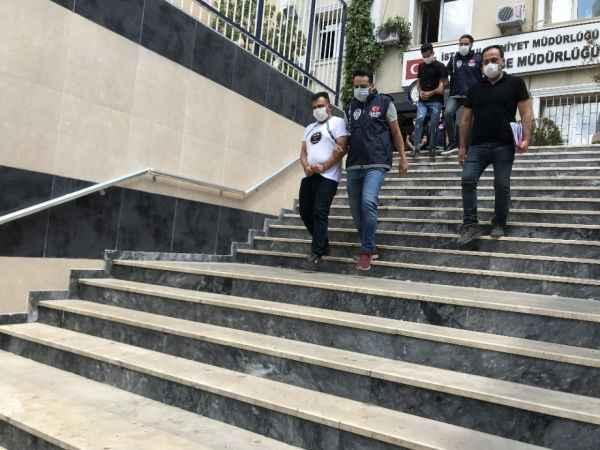 Ümraniye'deki gasp olayının 5 şüphelisi adliyeye sevk edildi