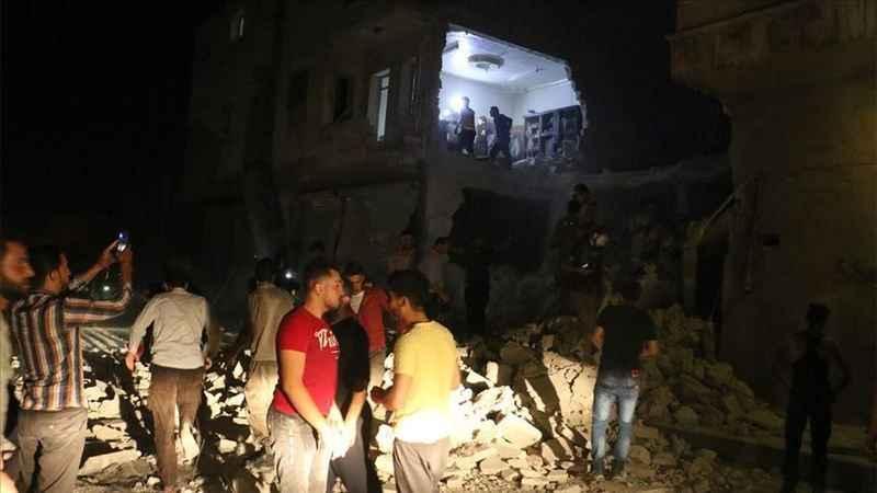 Esad rejimi Bab'a saldırdı: 2 kişi öldü