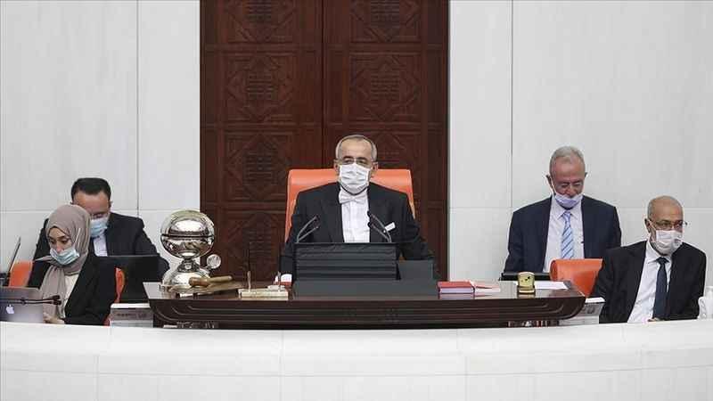 TBMM Başkanvekili Haydar Akar Genel Kurula ilk kez başkanlık etti