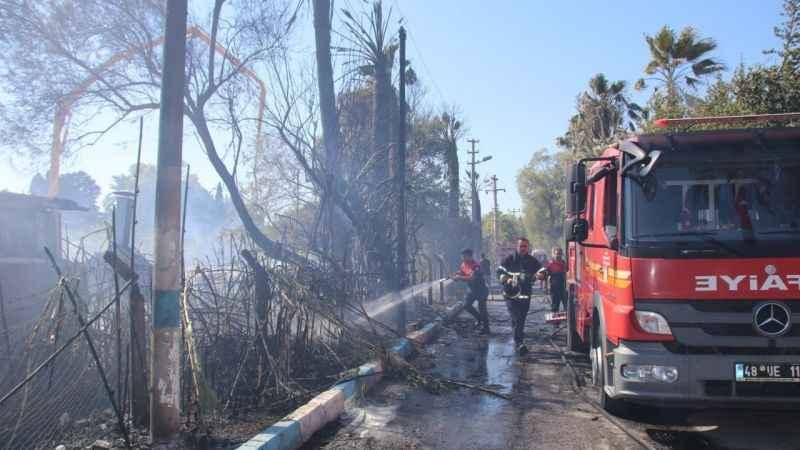 Muğla'da yangına müdahale eden 15 turist yaralandı