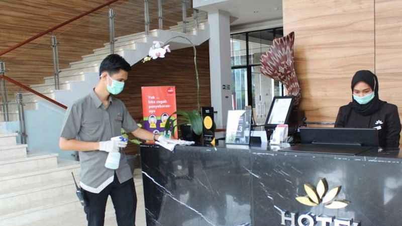 Endonezya'da koranavirüs krizi! 2 binden fazla otel geçici kapatıldı